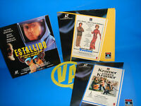 3 Laserdisc -speciale Dustin Hoffman- Scoppio - Tootsie (Tootsie) - Kramer