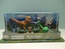 NUOVO Disney store la buona Dinosauro Figure Set Playset Pixar Arlo Spot Butch TREX