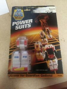 NIB Tonka 1985 Go Bots Guardian Power Suits GB P2
