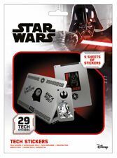 STAR WARS FORCE TECH STICKERS PACK (29) NEW 100% OFFICIAL MERCH