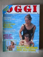 OGGI n°33 1989 Ornella Muti Marilyn Monroe Gaspare e Zuzzurro [G67]