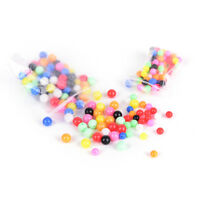 200Pcs round fishing rig beads sea fishing lure floating float tackles 6mm/8mm``