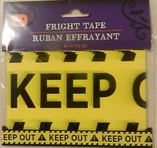 Halloween Decorations Fright Tape Scary Haunted House, Keep Out, Caution