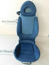 Passenger Seat Smart 452 Roadster Airbag & Heated Seats Grey No 9195