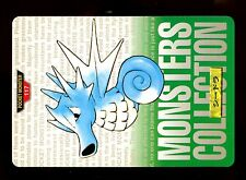 POKEMON BANDAI 1996 GREEN MONSTERS COLLECTION N°  117 SEADRA HYPOCEAN