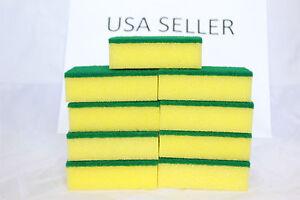Lot of 24pcs Sponge Scrubber Scrub Scourer Wash Cleaning Dish Multi-purpose BULK
