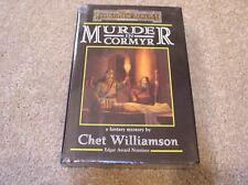 AD&D Forgotten Realms Murder in Cormyr hardcover novel