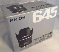 New PENTAX D FA 645 55mm F2.8 AL [IF] SDM AW Lens for 645D 645Z Medium Format