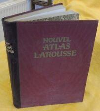 Abensour Léon NOUVEL ATLAS LAROUSSE Géographie Universelle Pittoresque