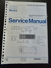Original Service Manual  Philips Cassette Autoradio 22DC484