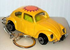 VOLKSWAGEN KEY CHAIN SUNSHINE BEETLE DIE CAST CAR WE SHIP WORLDWIDE!