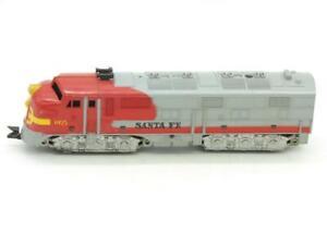 Marx Trains O Gauge Santa Fe 1095 Non-Powered Plastic Diesel