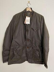 Barbour Beacon Sports Olive Men's Wax Jacket - BNWT - Large - Commander Bond 007