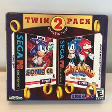 Sega PC Twin Pack Sonic CD & Sonic & Knuckles Collection New