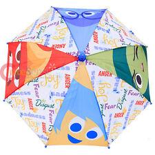 Disney Inside Out Kids Umbrella Joy Sadness Anger Disgust Insideout Paraguas