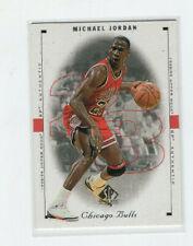1998 SP Authentic Michael Jordan Bulls UNC Tarheels Wizards #1