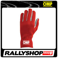OMP NEW RALLY Karthandschuh Handschuhe Professionell  Motorsport Rot
