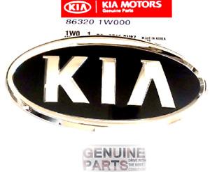 Bumper Hood Upper Grille Badge Ornament Emblem Logo Mark Kia 2012-15 Rio Sedan