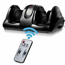 Shiatsu Foot Massager Kneading and Rolling Leg Ankle w/Remote Black New