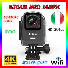 SJCAM M20 4K*2K WIFI SPORT CAMERA HD SUBACQUEA 16MP GYRO SONY VIDEOCAMERA NERO