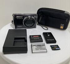 Olympus Stylus 9000 12Mp Digital Point & Shoot Camera. Case~Batteries~Remote