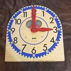 "Large Original Vintage ""JUDY CLOCK"". Judy/Instructo Teaching Clock. J209040"