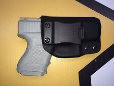 IWB Holster for Glock 26/27 - Adj Retention - Right Handed - G26/27- Kydex