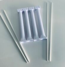 """4 x 7"""" White Grecian Pillars Columns  and 12"""" Dowel Rods Cake Support Decorate"""