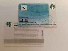 Geschenkkarte Starbucks USA # 6096 neueste Ausgabe, OHNE Guthaben!