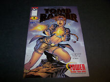 TOMB RAIDER STARRING LARA CROFT #1 TOWER RECORDS GOLD FOIL EXCLUSIVE VARIANT