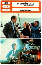 LA DERNIERE CIBLE - Eastwood (Fiche Cinéma) 1988 - Dirty Harry in The Dead Pool