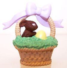 1993 Hallmark New Easter Easter Basket Merry Miniature Qsm8145 Never Displayed