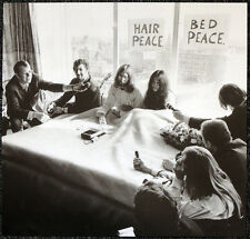 THE BEATLES POSTER PAGE .1969 JOHN LENNON AMSTERDAM HILTON BED-IN . J63