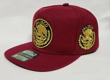 JALISCO    MEXICO  HAT MARRON    SNAP BACK ADJUSTABLE  NEW