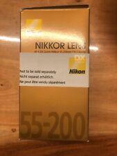 Nikon DX Nikkor AF-S 55-200mm f/4-5.6 G ED  Tele-Objektiv