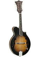 More details for mandolin electro acoustic, f hole, floating bridge, matt sunburst, rrp £269.00