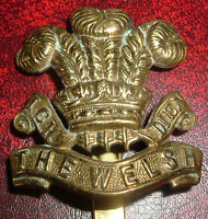 CAP BADGES-ORIGINAL WW1 ECONOMY WELSH REGIMENT