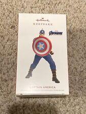 Hallmark Ornament Captain America 2019 Limited Edition Marvel Avengers Endgame N