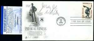 Jersey Joe Walcott PSA DNA Coa  Signed 1965 FDC Cache Autograph