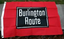 New ListingOther - Burlington Route Flag - 2'x3' from Flags of Bygone Railroads - unused