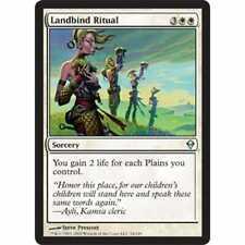 MTG ZENDIKAR * Landbind Ritual (foil)