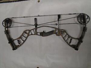 "Hoyt Nitrum 30 Realtree Camo Compound Bow w/ Shrewd Grip! RH 27.5"" 50-60lb."