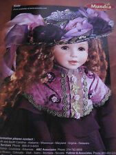 1999 Cecile et Christine KATE Doll Mundia Collection Ad Advertisement