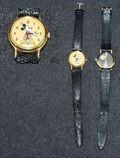 Disney 1986 Lorus Ladies Mickey Mouse Wrist Watch Animated Seconds
