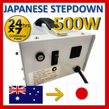 500 Watt Japanese stepdown transformer 240v to 100V SD100-500A