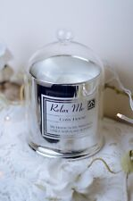 Candle Gift Set Cosy Home Scented Soy Wax Silver Bell With Inspired Quotes