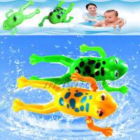 1X bad wanne spielzeug uhrwerk landet kunststoff bad frosch pool for baby - kind