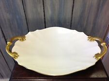 "New ListingLenox 12"" x 14"" Platter hand decorated 24K gold trim made in Usa good condition"
