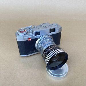 Pax M3 Vintage 35mm Rangefinder Film Camera W/ 45mm 1:2.8 - AS IS - FOR REPAIR