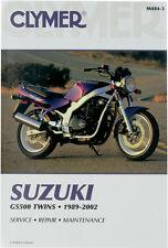 CLYMER Repair Manual for Suzuki GS500 Twins 1989-2002
